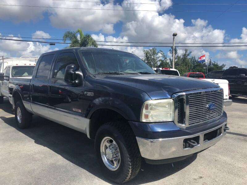 2003 Ford F-350 Super Duty for sale at TRUCKS UNLIMITED WHOLESALERS in Medley FL