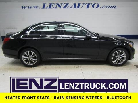 2017 Mercedes-Benz C-Class for sale at LENZ TRUCK CENTER in Fond Du Lac WI