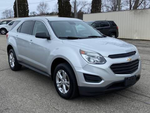 2017 Chevrolet Equinox for sale at Miller Auto Sales in Saint Louis MI