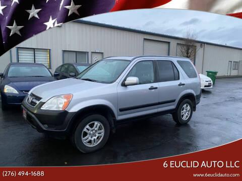 2005 Honda CR-V for sale at 6 Euclid Auto LLC in Bristol VA