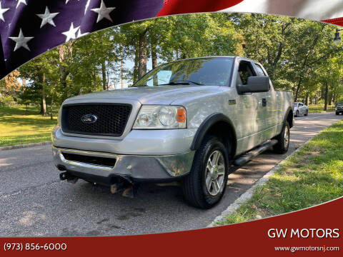 2006 Ford F-150 for sale at GW MOTORS in Newark NJ