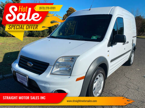 2013 Ford Transit Connect for sale at STRAIGHT MOTOR SALES INC in Paterson NJ