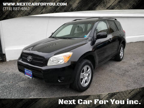 2007 Toyota RAV4 for sale at Next Car For You inc. in Brooklyn NY