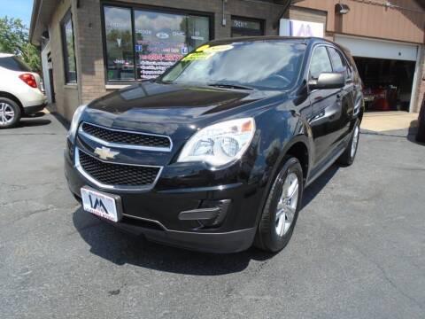 2010 Chevrolet Equinox for sale at IBARRA MOTORS INC in Cicero IL