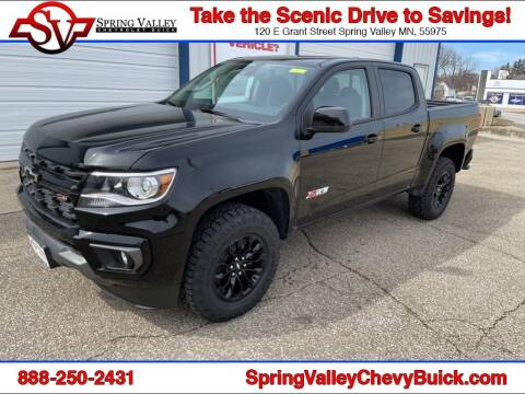 2021 Chevrolet Colorado for sale at Spring Valley Chevrolet Buick in Spring Valley MN