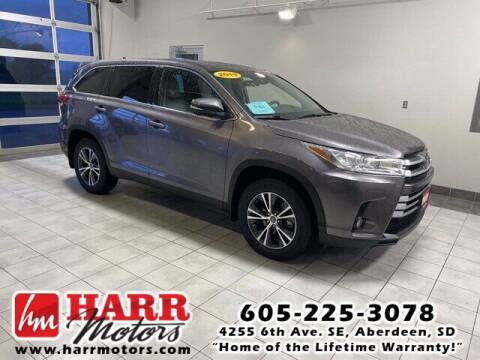 2019 Toyota Highlander for sale at Harr's Redfield Ford in Redfield SD