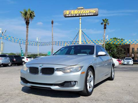 2015 BMW 3 Series for sale at A MOTORS SALES AND FINANCE in San Antonio TX