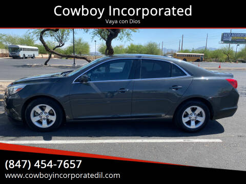 2015 Chevrolet Malibu for sale at Cowboy Incorporated in Waukegan IL