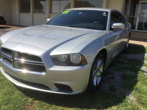 2012 Dodge Charger for sale at LOWEST PRICE AUTO SALES, LLC in Oklahoma City OK