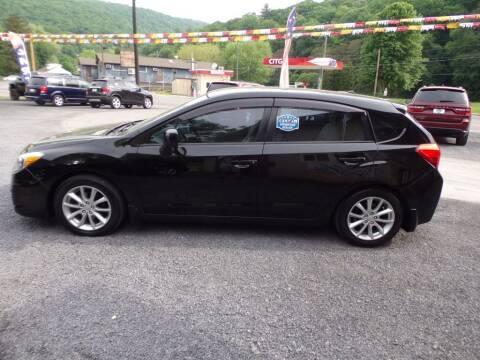 2014 Subaru Impreza for sale at RJ McGlynn Auto Exchange in West Nanticoke PA