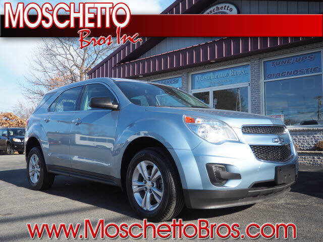 2015 Chevrolet Equinox for sale at Moschetto Bros. Inc in Methuen MA