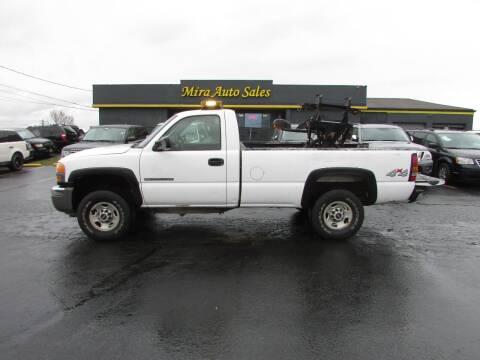 2006 GMC Sierra 2500HD for sale at MIRA AUTO SALES in Cincinnati OH