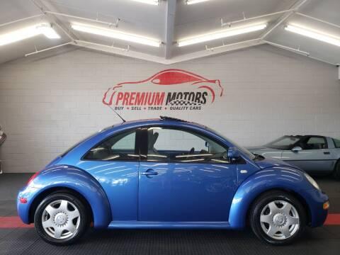 2000 Volkswagen New Beetle for sale at Premium Motors in Villa Park IL