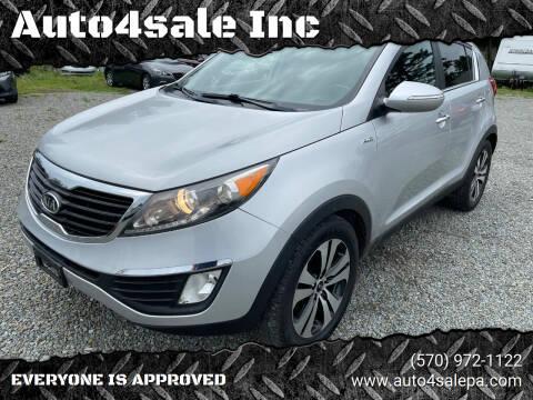 2011 Kia Sportage for sale at Auto4sale Inc in Mount Pocono PA