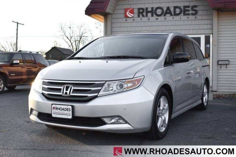 2013 Honda Odyssey for sale at Rhoades Automotive in Columbia City IN