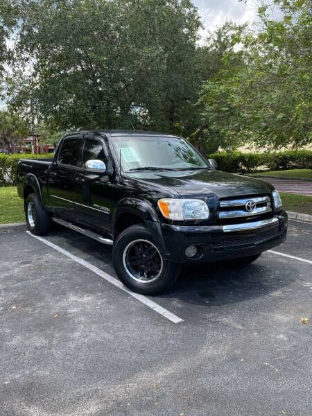 2006 Toyota Tundra for sale at Car Net Auto Sales in Plantation FL