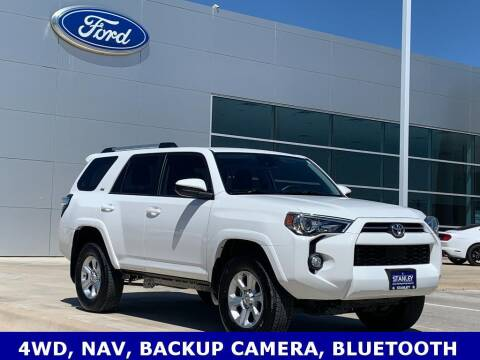 2020 Toyota 4Runner for sale at STANLEY FORD ANDREWS in Andrews TX