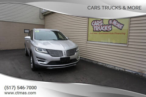 2015 Lincoln MKC for sale at Cars Trucks & More in Howell MI