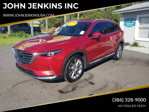 2017 Mazda CX-9 for sale at JOHN JENKINS INC in Palatka FL
