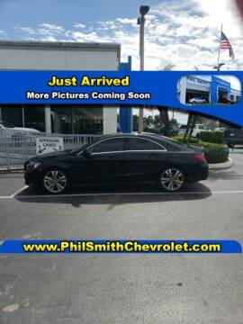 2018 Mercedes-Benz CLA for sale at PHIL SMITH AUTOMOTIVE GROUP - Phil Smith Chevrolet in Lauderhill FL