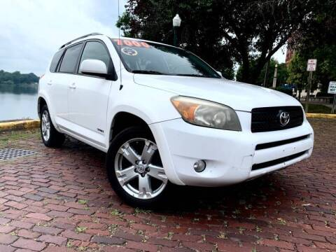 2007 Toyota RAV4 for sale at PUTNAM AUTO SALES INC in Marietta OH