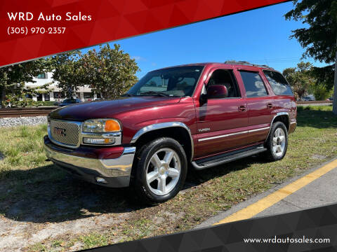 2001 GMC Yukon for sale at WRD Auto Sales in Hollywood FL