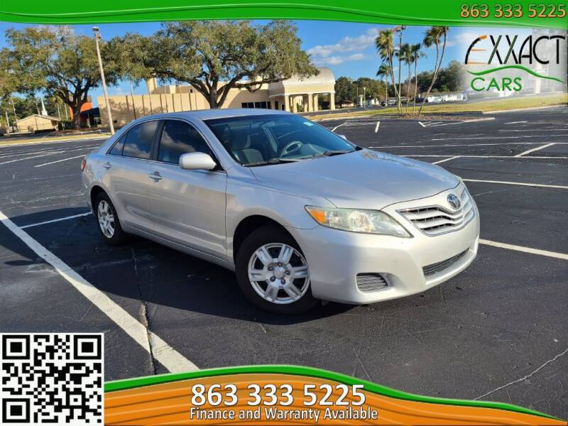 2011 Toyota Camry for sale at Exxact Cars in Lakeland FL