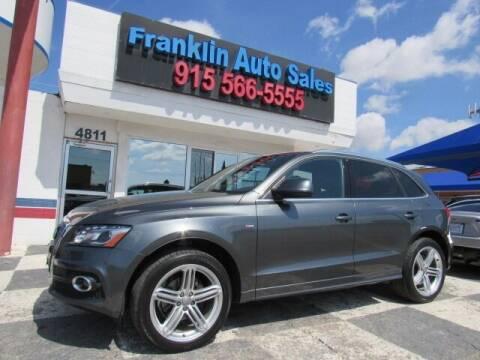 2012 Audi Q5 for sale at Franklin Auto Sales in El Paso TX