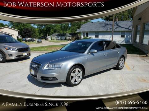 2008 Audi A6 for sale at Bob Waterson Motorsports in South Elgin IL