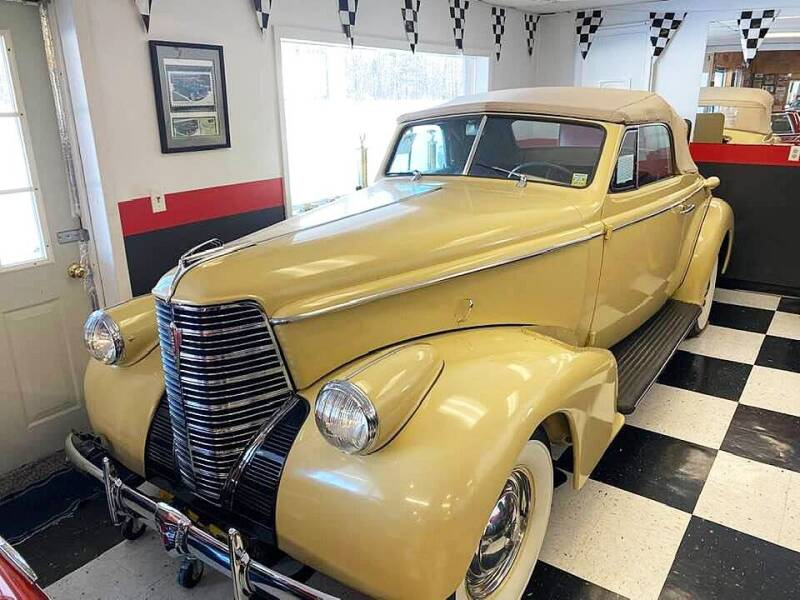 1938 Oldsmobile L-38 CONVERTIBLE RUMBLE SEAT for sale at AB Classics in Malone NY