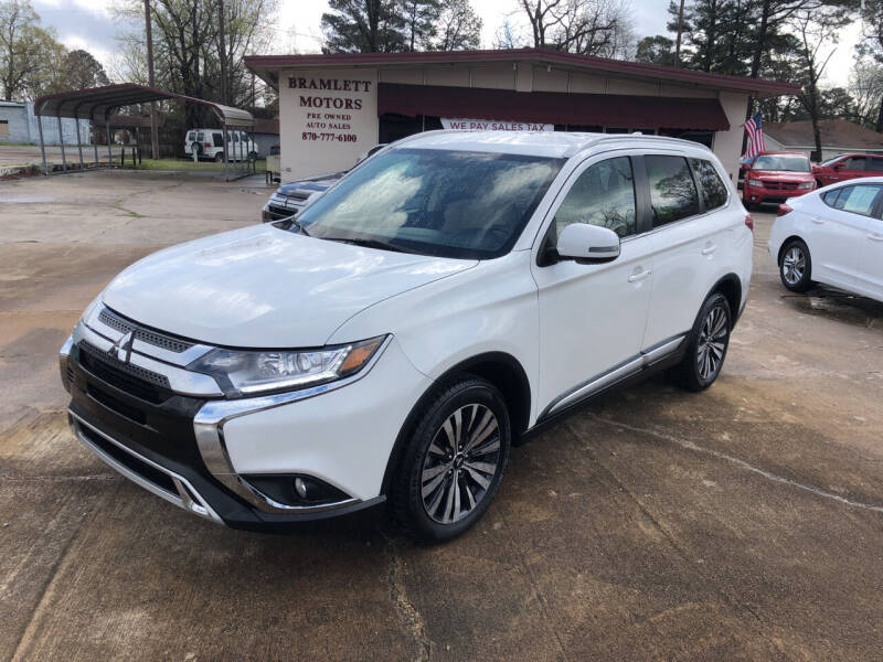 2019 Mitsubishi Outlander for sale at BRAMLETT MOTORS in Hope AR
