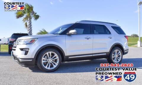 2018 Ford Explorer for sale at Courtesy Value Pre-Owned I-49 in Lafayette LA