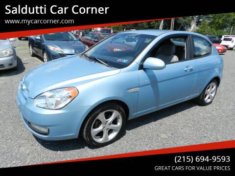 2008 Hyundai Accent for sale at Saldutti Car Corner in Gilbertsville PA