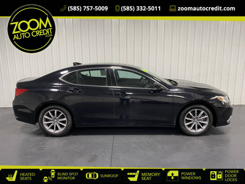 2019 Acura TLX for sale at ZoomAutoCredit.com in Elba NY