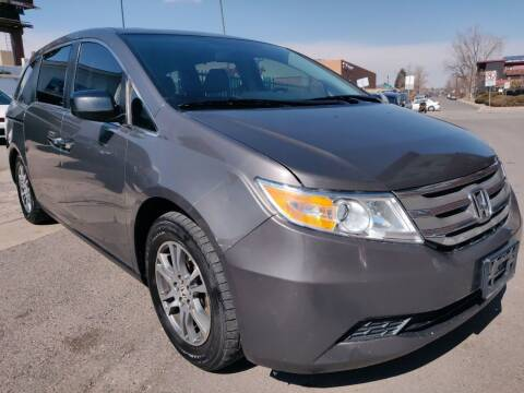2013 Honda Odyssey for sale at Sanaa Auto Sales LLC in Denver CO
