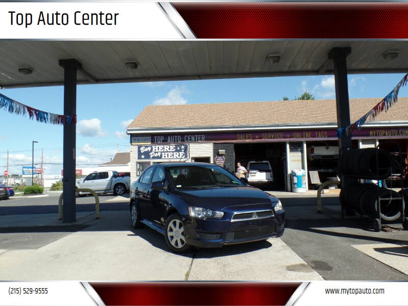 2014 Mitsubishi Lancer for sale at Top Auto Center in Quakertown PA