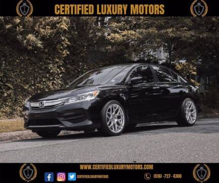 2016 Honda Accord for sale at Certified Luxury Motors in Great Neck NY