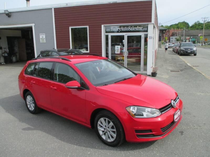2016 Volkswagen Golf SportWagen for sale at Percy Bailey Auto Sales Inc in Gardiner ME