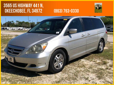 2006 Honda Odyssey for sale at M & M AUTO BROKERS INC in Okeechobee FL