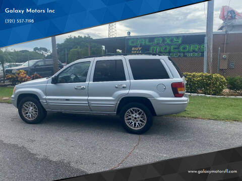 2004 Jeep Grand Cherokee for sale at Galaxy Motors Inc in Melbourne FL