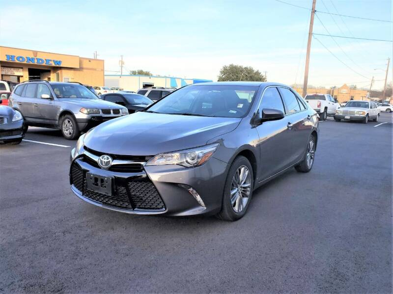 2015 Toyota Camry for sale at Image Auto Sales in Dallas TX