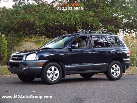 2005 Hyundai Santa Fe for sale at M2 Auto Group Llc. EAST BRUNSWICK in East Brunswick NJ