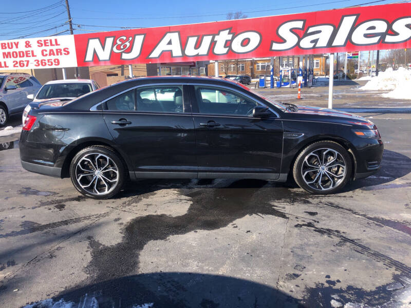 2015 Ford Taurus for sale at N & J Auto Sales in Warsaw IN
