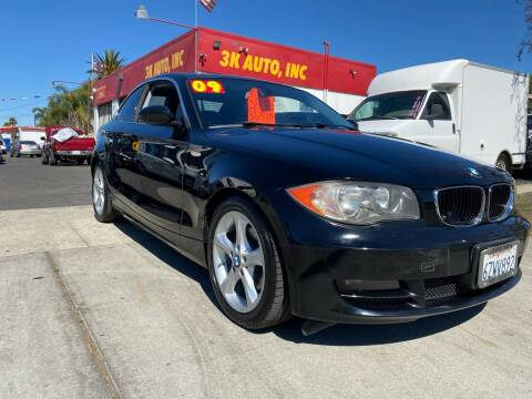 2009 BMW 1 Series for sale at 3K Auto in Escondido CA