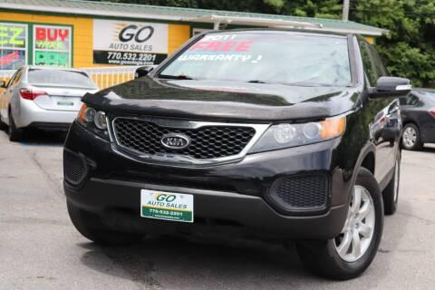 2012 Kia Sorento for sale at Go Auto Sales in Gainesville GA