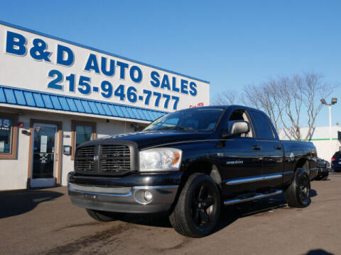 2007 Dodge Ram Pickup 1500 for sale at B & D Auto Sales Inc. in Fairless Hills PA