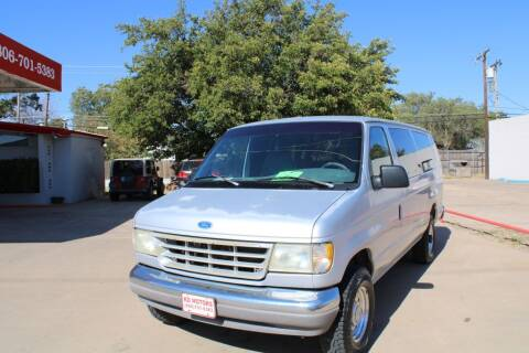 1995 Ford E-350 for sale at KD Motors in Lubbock TX