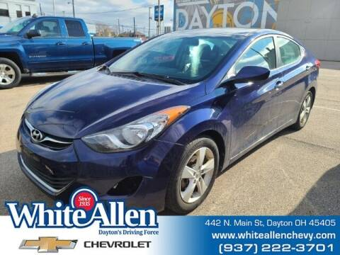 2013 Hyundai Elantra for sale at WHITE-ALLEN CHEVROLET in Dayton OH