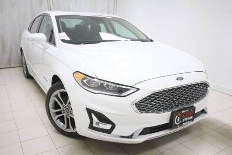 2019 Ford Fusion Hybrid for sale at EMG AUTO SALES in Avenel NJ
