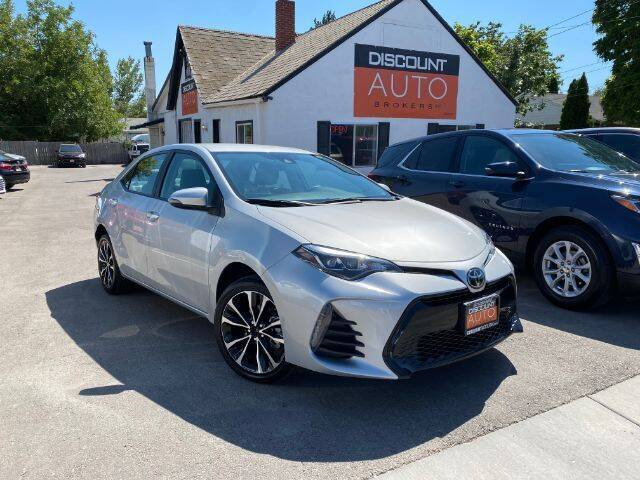 2019 Toyota Corolla for sale at Discount Auto Brokers Inc. in Lehi UT
